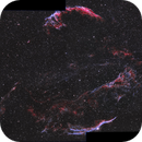 Veil Nebula - 4 panel mosaic,                                Daniel Hightower