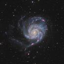 Messier 101 (the Pinwheel Galaxy) in Ursa Major,                                Steve Milne