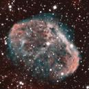 NGC 6888 Crescent Nebula HOO @ HVO & Dark Site,                                SoDakAstronomyNut