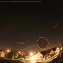 Comet C/2020 F3 (NEOWISE) in light pollution, Canon EOS 6D, 20200711,                                Geert Vandenbulcke