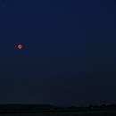 Lunar eclipse + Mars - 27-07-2018 - I,                    AC1000