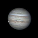 Jupiter with Io animation,                                Joel Donovan