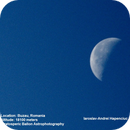Moon from stratosphere,                                Andrei Hapenciuc