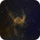 Thor Helmet (NGC2359) in Ha/OIII/SII,                                Jose Carballada