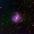 My Messier Project: Last Target, M83, First Night,                                David Redwine