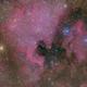 NGC7000,                                sharkmelley