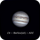 Jupiter (LRGB),                                *philippe Gilberton