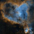 SH2-190 Heart Nebula SHO,                                Dan Kusz