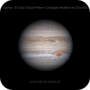 Jupiter: 31 day cloud movement,                                Darren (DMach)