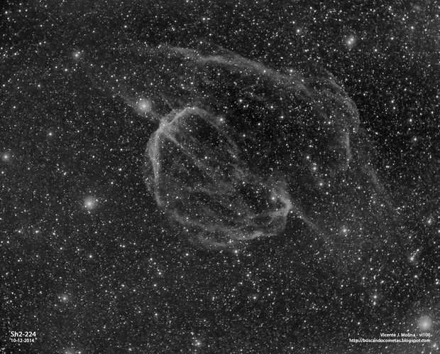 Sh2-224. Supernova Remmant,                                vi100