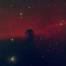 Horsehead Nebula H-a & Green,                                Ryan Betts