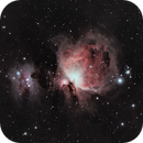 M42 Orion Nebula with Running Man,                                Stephen Eggleston