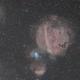 Sh2-232 (Pumpkin Nebula) from Bortle 8,                                Carastro