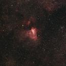 Omega (Swan) Nebula - July 11, 2018,                                Adam Drake