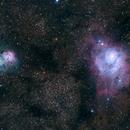 M8 & M20, The Lagoon & Trifid Nebulae,                    Bryce Zuccaro