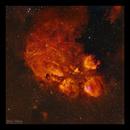 NGC 6334 The Cat's Paw Nebula,                                Göran Nilsson