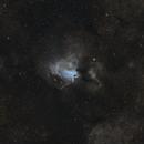 M 17 - The Omega Nebula in SHO,                                Nic Doebelin