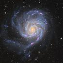 Pinwheel Galaxy,                                tbcgeorge