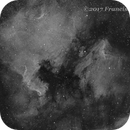 NGC7000-Ha revisited,                                Francisco