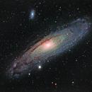 Andromeda Galaxy,                                Daniel Hightower