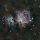 Orion Nebula M42,                                Dagolaf