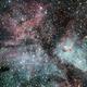 Eta Carinae under a full moon,                                Steffen Boelaars