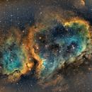 Ic 1848 soul nebula,                                  Chassaigne
