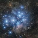 M45 : The Pleiades Cluster,                                  Toshiya Arai