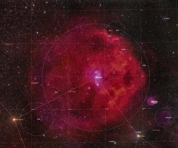 SH2-264 - Orions Head,                                  Fritz