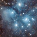 M45 - The Pleiades,                                Almos Balasi
