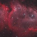Soul Nebula HOO-RGB blend,                                Kristian Vasskog