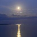 timelapse: Full Moon rising,                                Lorenzo Palloni