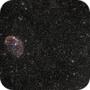 "NGC 6888 Crescent Nebula (alias ""Ohren Nebel, ""Mondsichel Nebel""),                                Günther Dick"