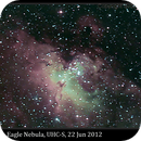 M16, Eagle Nebula, UHC-S,                                David Dearden