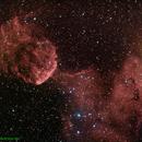 IC443 - Jellyfish Nebula in Gemini,                                Mataratzis