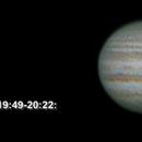 Short Animation of Europa transiting Jupiter,                                Fritz