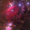 Orion belt region,                                Hamid Naseri