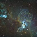 NGC 3576 Statue of Liberty Nebula,                                Kevin Osborn