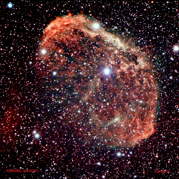 NGC6888,                                Adriano Inghes