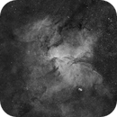 NGC 6188 (The Dragons of Ara) only H-Alpha,                                Ayrton Lopes