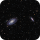 Messier 81 and 82 - Bode and Cigar Galaxies,                                Jan Simons