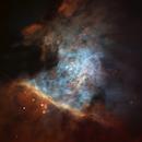 M42 Center (OIII+Ha+SII) - C11,QHY5L-II,ASI224MC,                                Alexander Obukhov