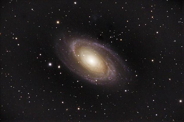 M81 OSC experiment,                                WAskywatcher
