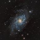 M33 - f/5 - cropped,                                Florian Drews