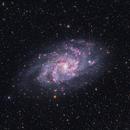 M33 HaLRGB,                                Deep Sky West (Lloyd)