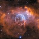 Bubble Nebula NGC7635,                                sydney