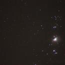 Orion Nebula,                                Dylan Woodbrey