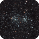 NGC 884 + NGC 869 Double Cluster in Perseus,                                star-watcher.ch