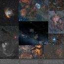 Nebulae in the region around the Cepheus constellation,                                Andre van der Hoeven