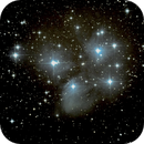 Pleiades from SE England,                                  Francisco